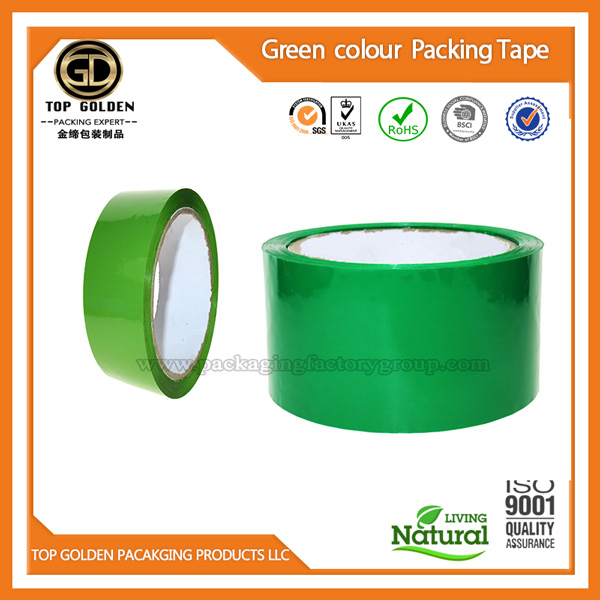 Green sealing packing tape
